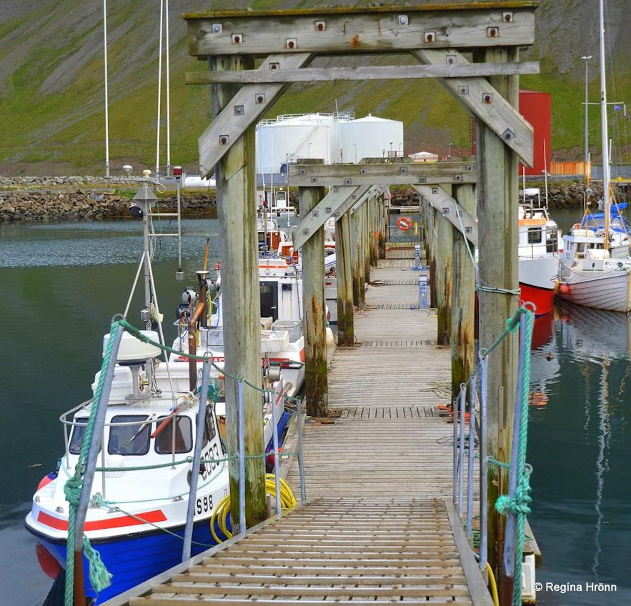 The Ísafjörður harbour - Westfjords of Iceland