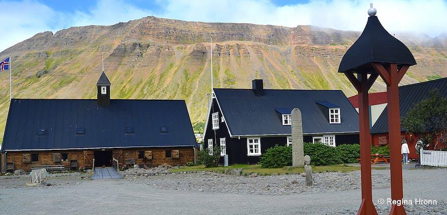 Neðstikaupstaður - oldest part of Ísafjörður Westfjords