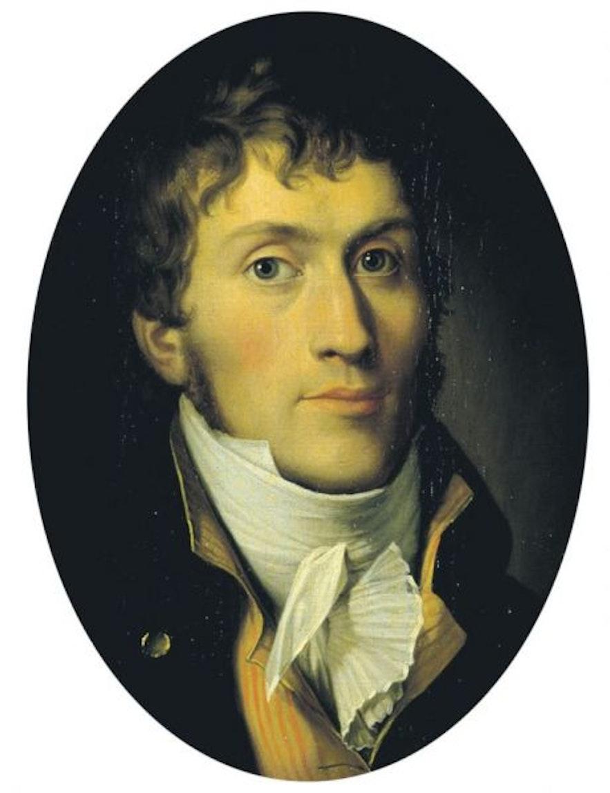 The Danish explorer, Jørgen Jørgensen.