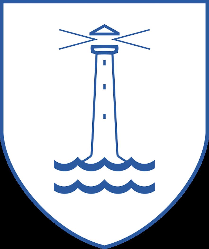 The Flag of Hafnarfjörður.