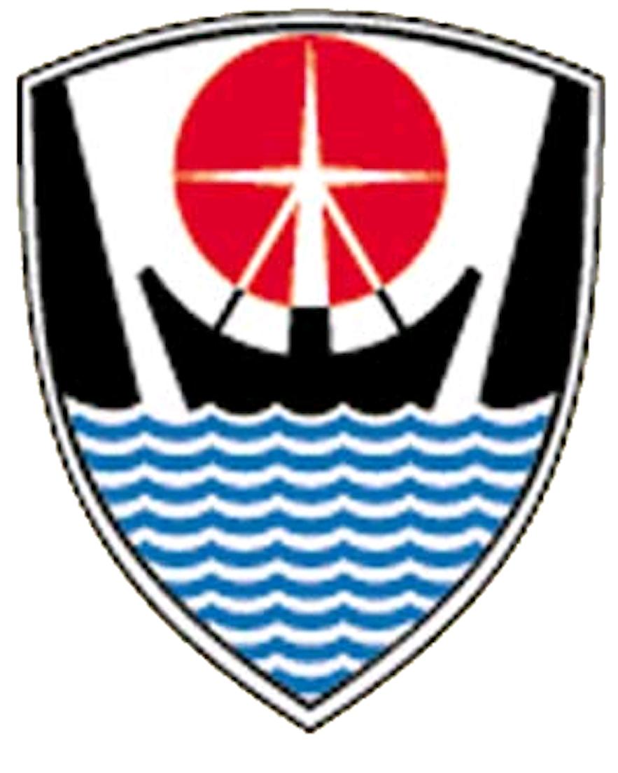 The Flag ofIsafjarðarbær.