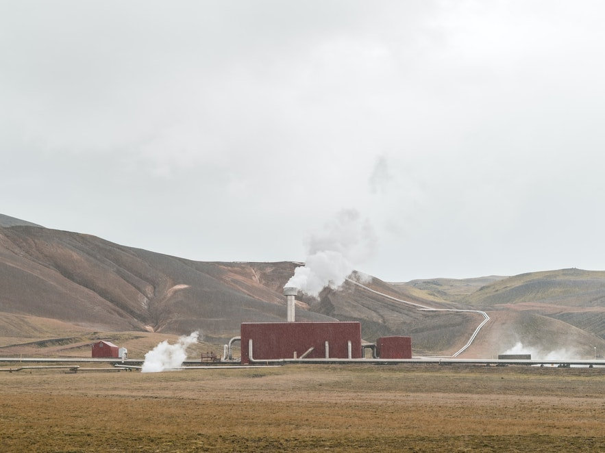 A Geothermal Plant in Iceland.
