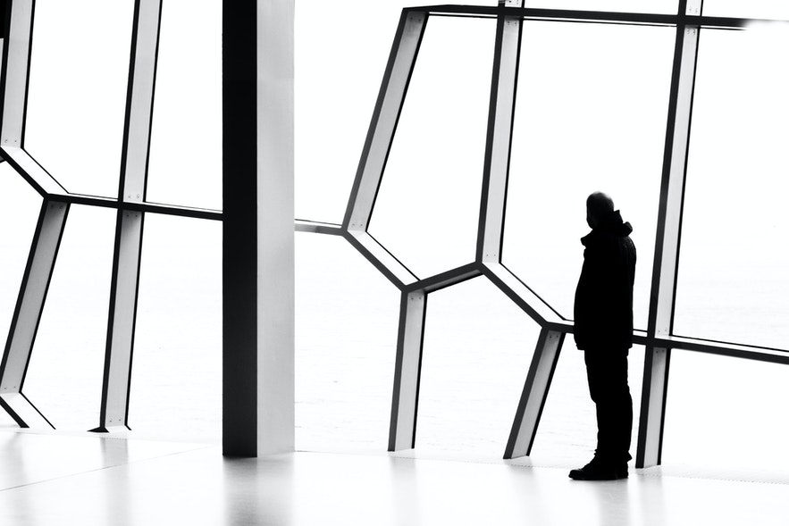 Harpa makes incredible use of Iceland's light.