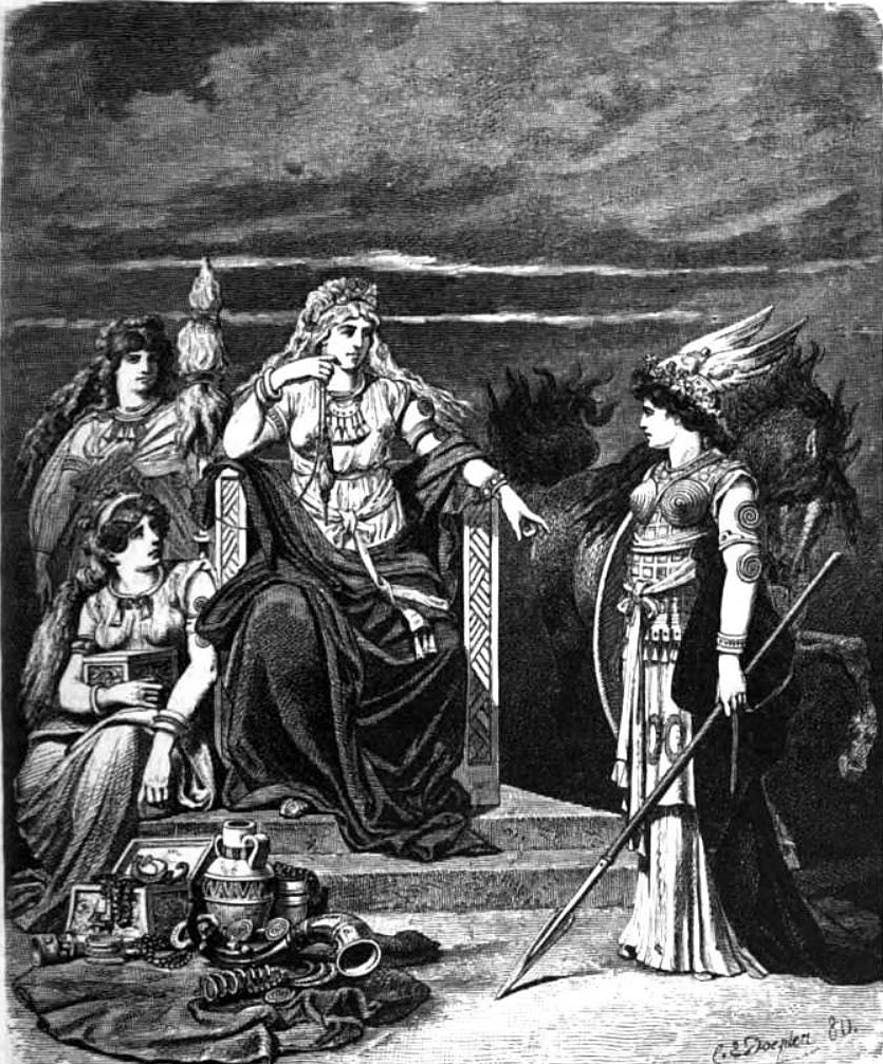 Frigg, an Old Norse Goddess, is the most powerful of the 12.