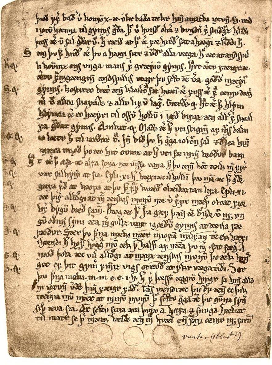 Edda is a valuable manuscript.