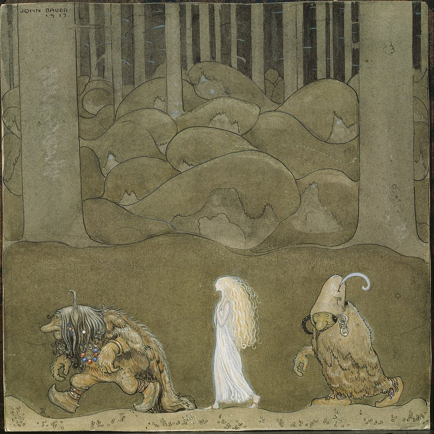 An image reflecting unique European folklore.