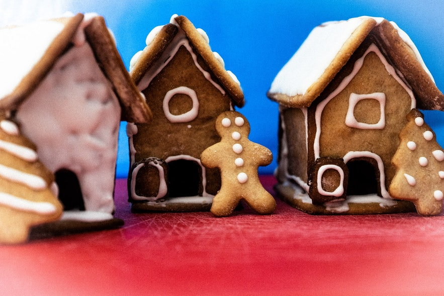 Gingerbread is popular in Iceland.