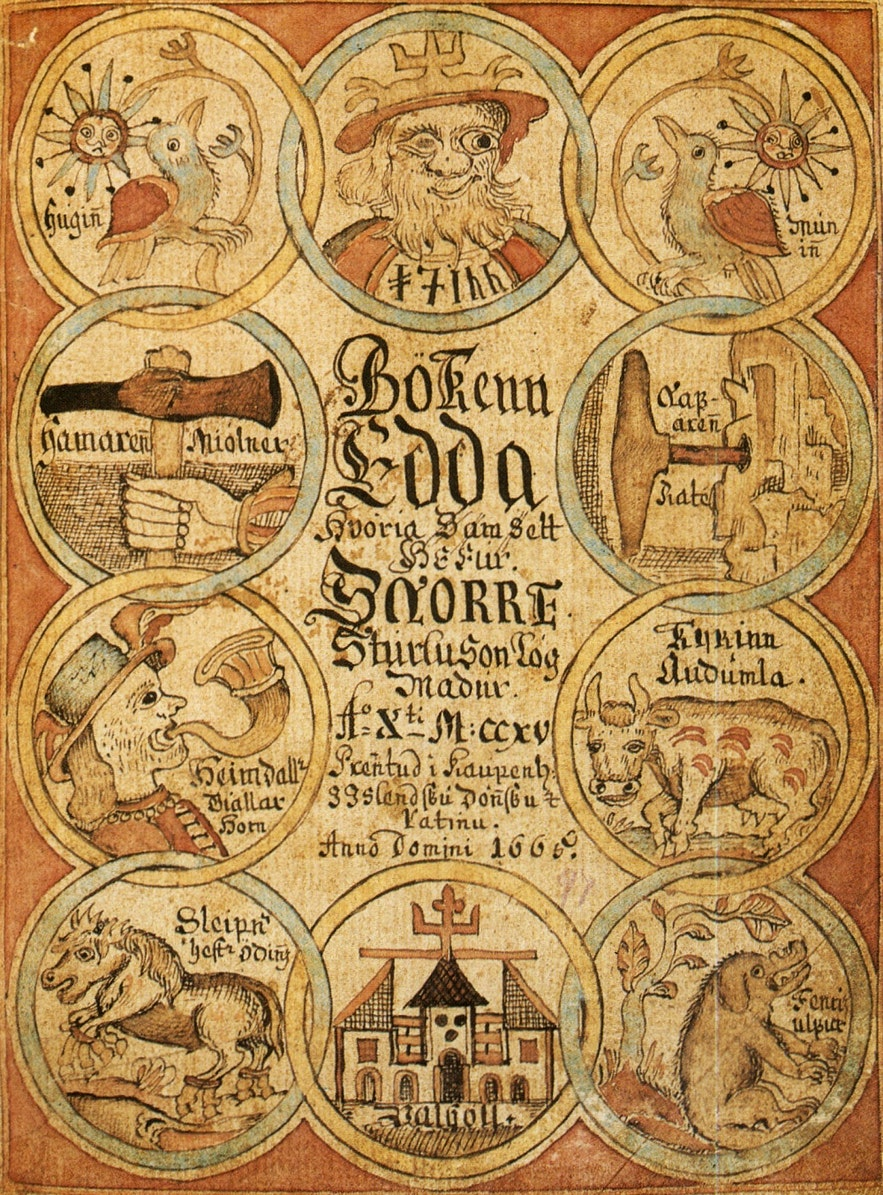 Snorri's Edda provides a lot of context for the Sagas.