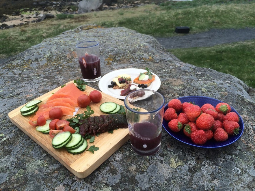 Icelandic food is largely healthy!
