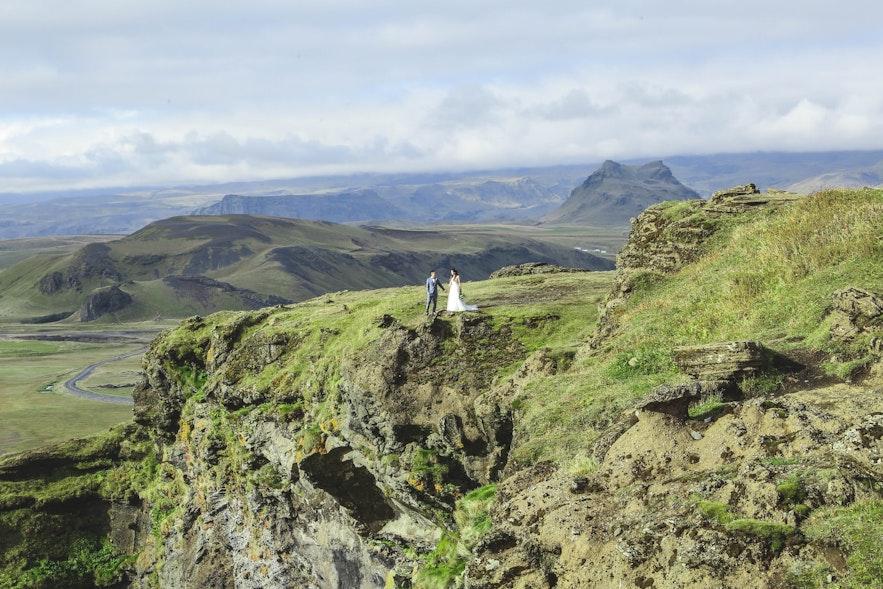 Iceland is a perfect wedding destination.