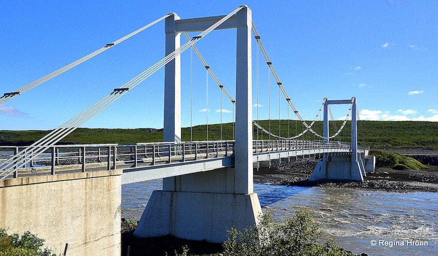 The bridge across Jökulsá á Fjöllum by road 85