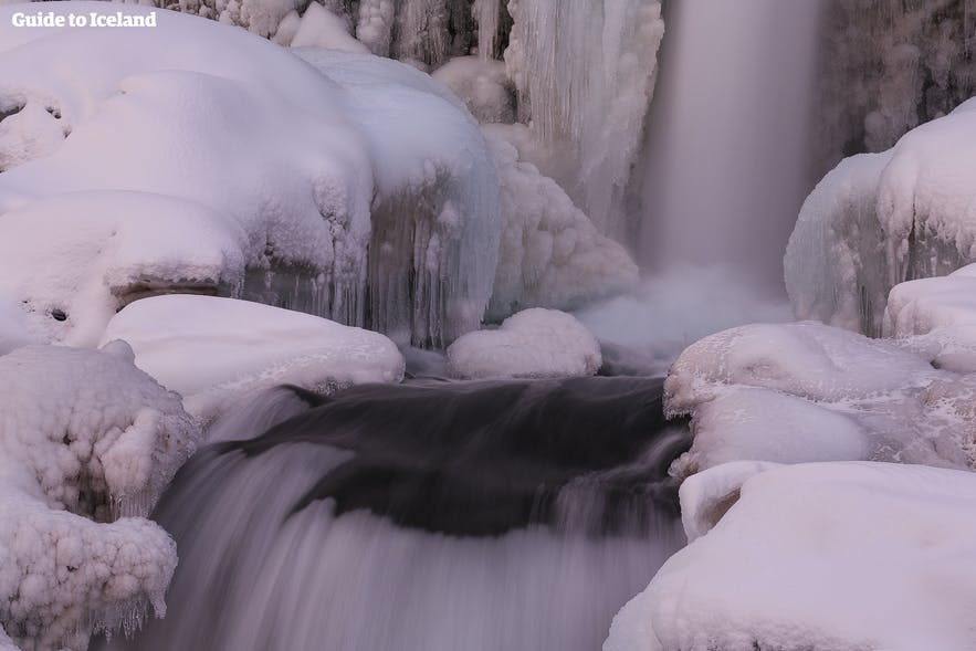 Freezing in an Icelandic glacial river is not an ideal way to spend your holiday.
