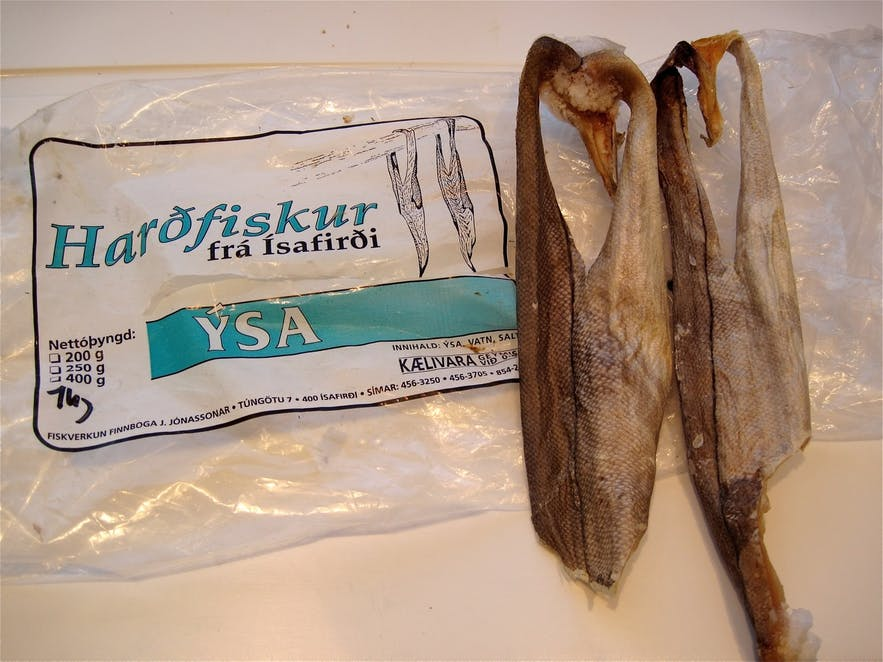 Dried fish is a local delicacy.