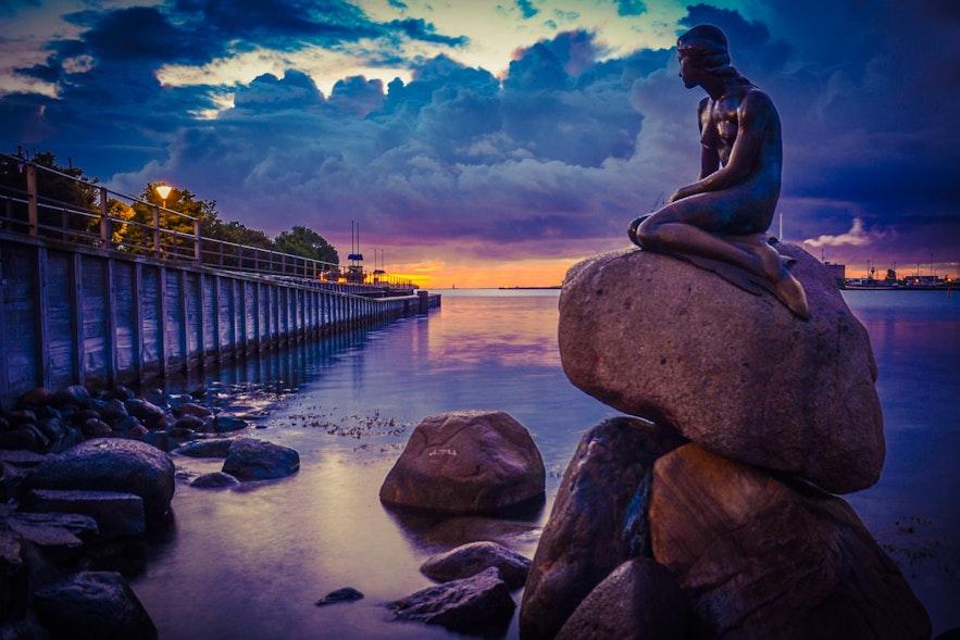 Copenhagen's 'Little Mermaid'.
