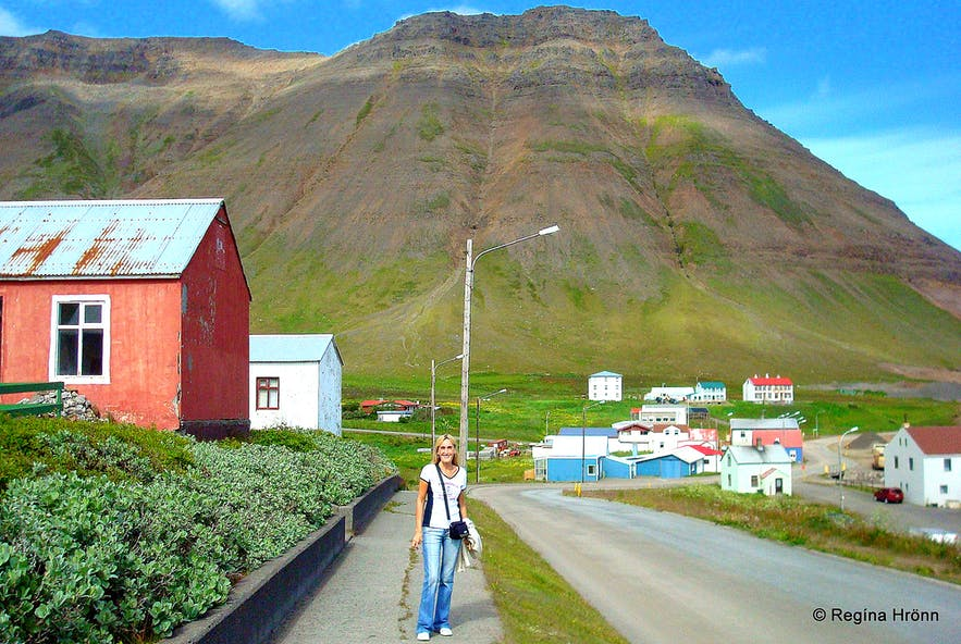 Hnífsdalur Village in the Westfjords of Iceland & the big Avalanche in 1910