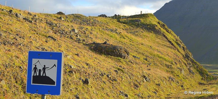 View-dials - Hringsjár - in the Westfjords of Iceland