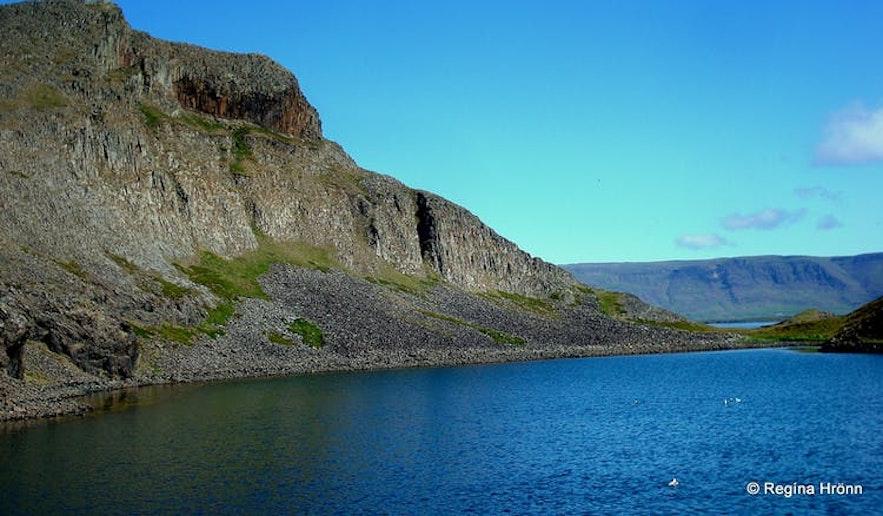 Breiðafjarðar islands in West-Iceland
