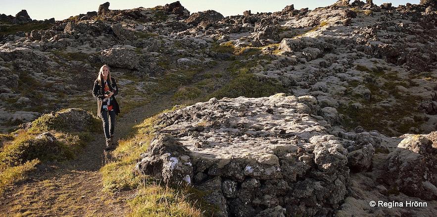 Berserkjadys burial mound in Snæfellsnes