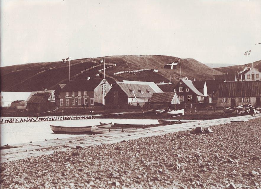 Akureyri in the 19th Century.