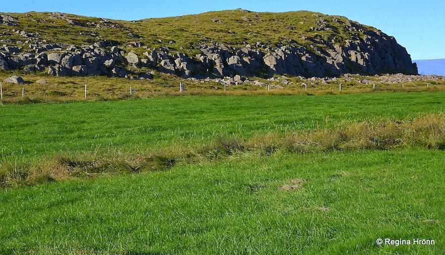Þórsnessþing old district parliament site Snæfellsnes