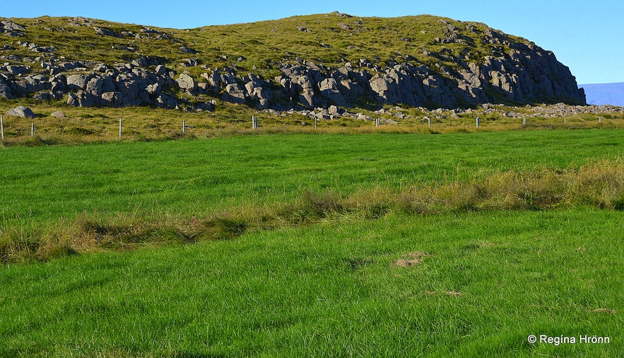 Parliament grounds at Þingvellir on Þórsnes Snæfellsnes