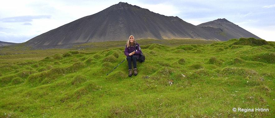 Ruins in Öndverðareyri Snæfellsnes