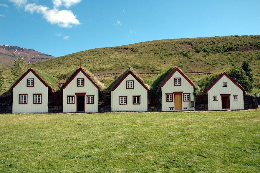 Laufas is turf farm in Iceland.