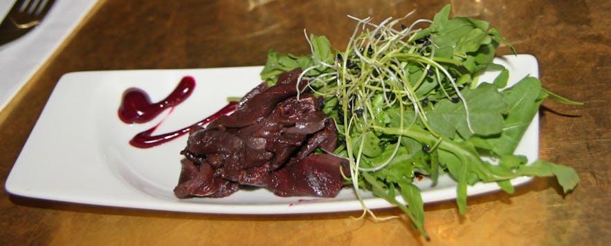 Icelandic lamb is generally described as a gourmet meat