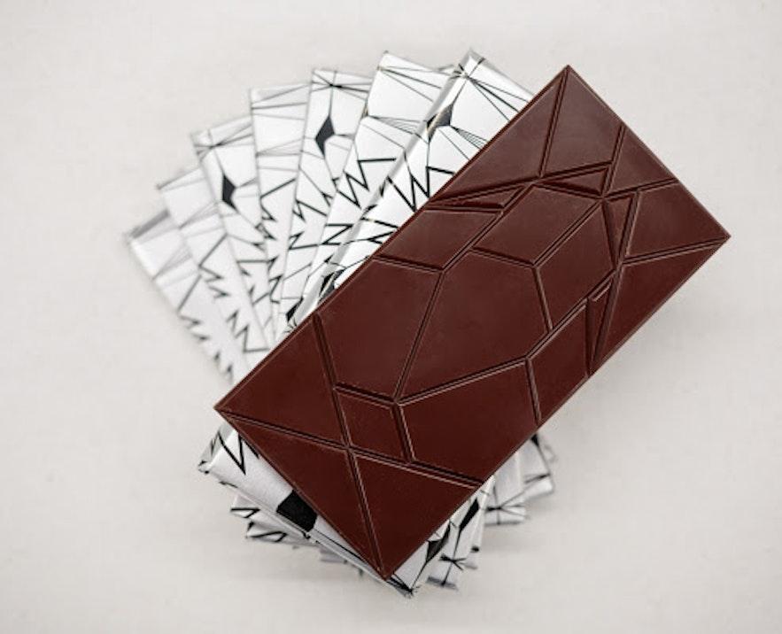 Liquorice is often concealed in Icelandic chocolate.