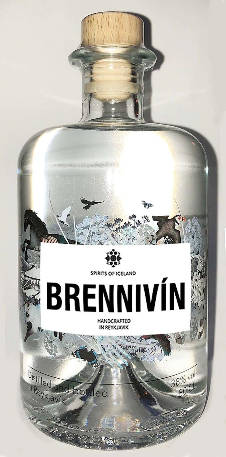 Iceland's signature distilled beverage is Brennivín