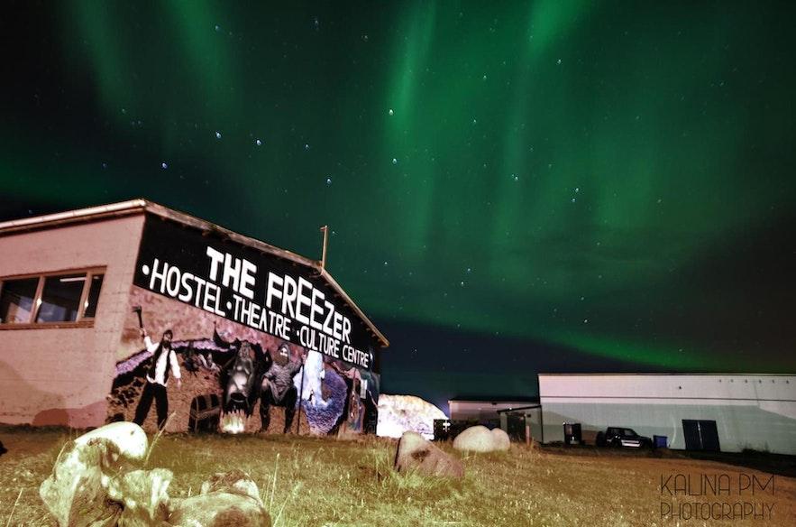 The Freezer Hostel hosts the Northern Wave International Short Film Festival.