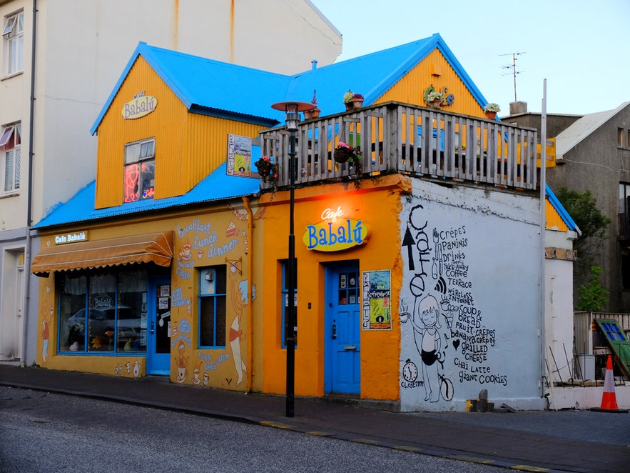 One of the first things people notice about Cafe Babalu is its bright facade.