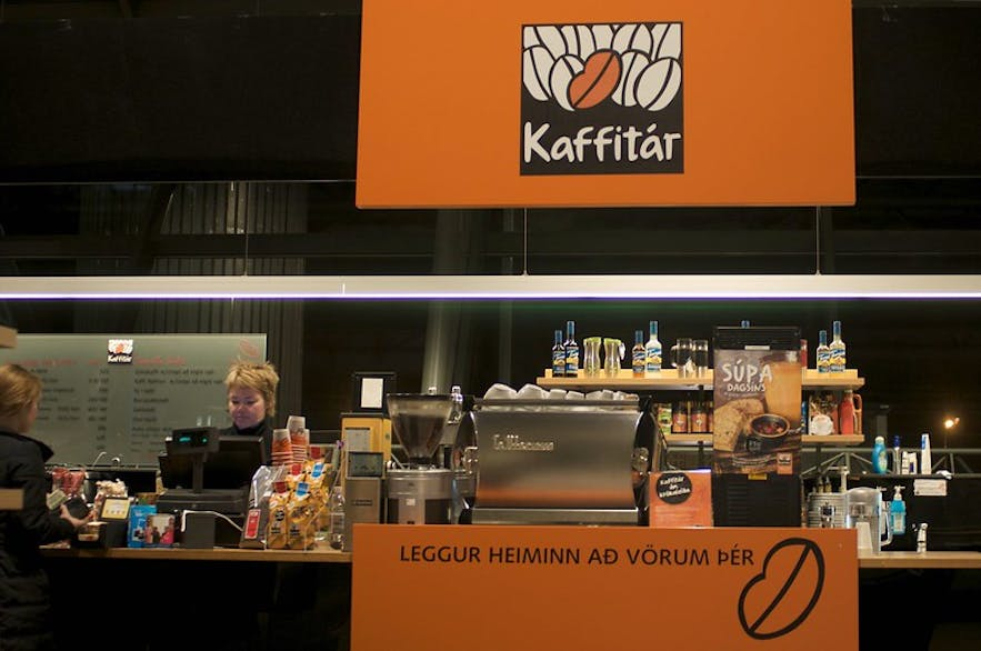As with Reykjavik Roasters and Te and Kaffi, Kaffitar also sells its own beans and ground coffee.