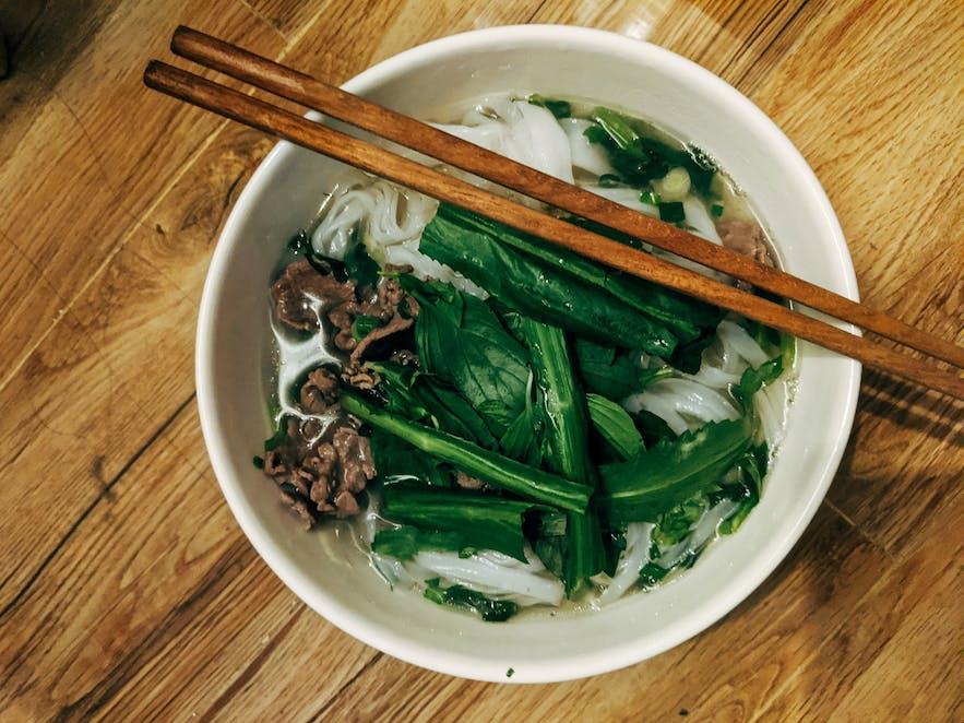 Grandi Matholl has Vietnamese food.