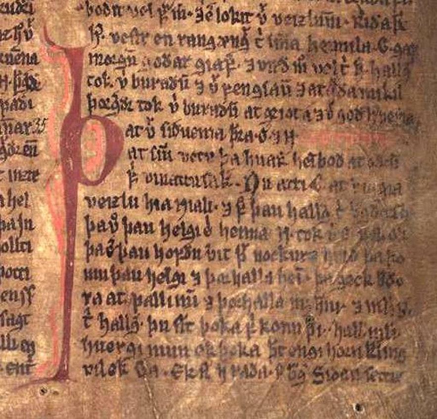 Njal's saga can still be read at Mal og Menning.