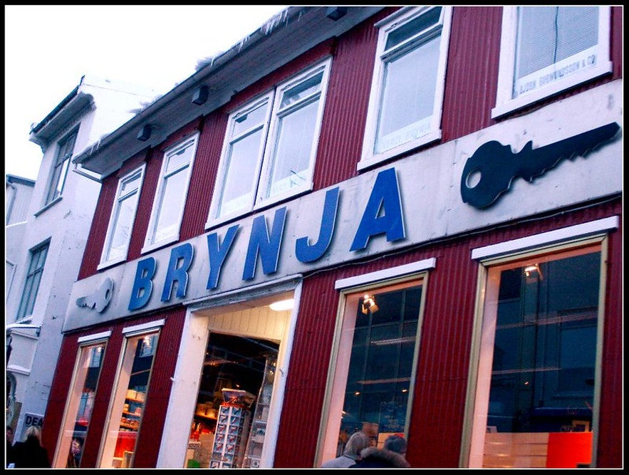 Brynja is a prime hardware store in Iceland.