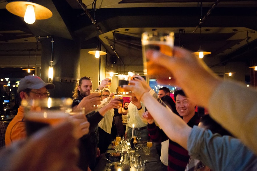 Reykjavik has a range of options, from dive bars to sophisticated venues.