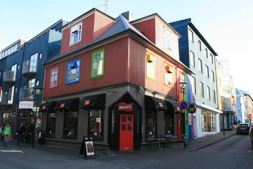 Bravo is a popular gay-friendly bar in Iceland.