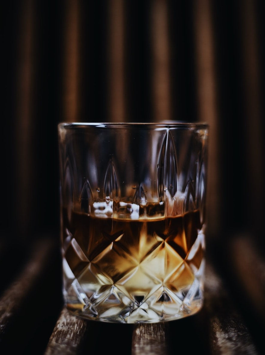 Whisky is popular at the American Bar.