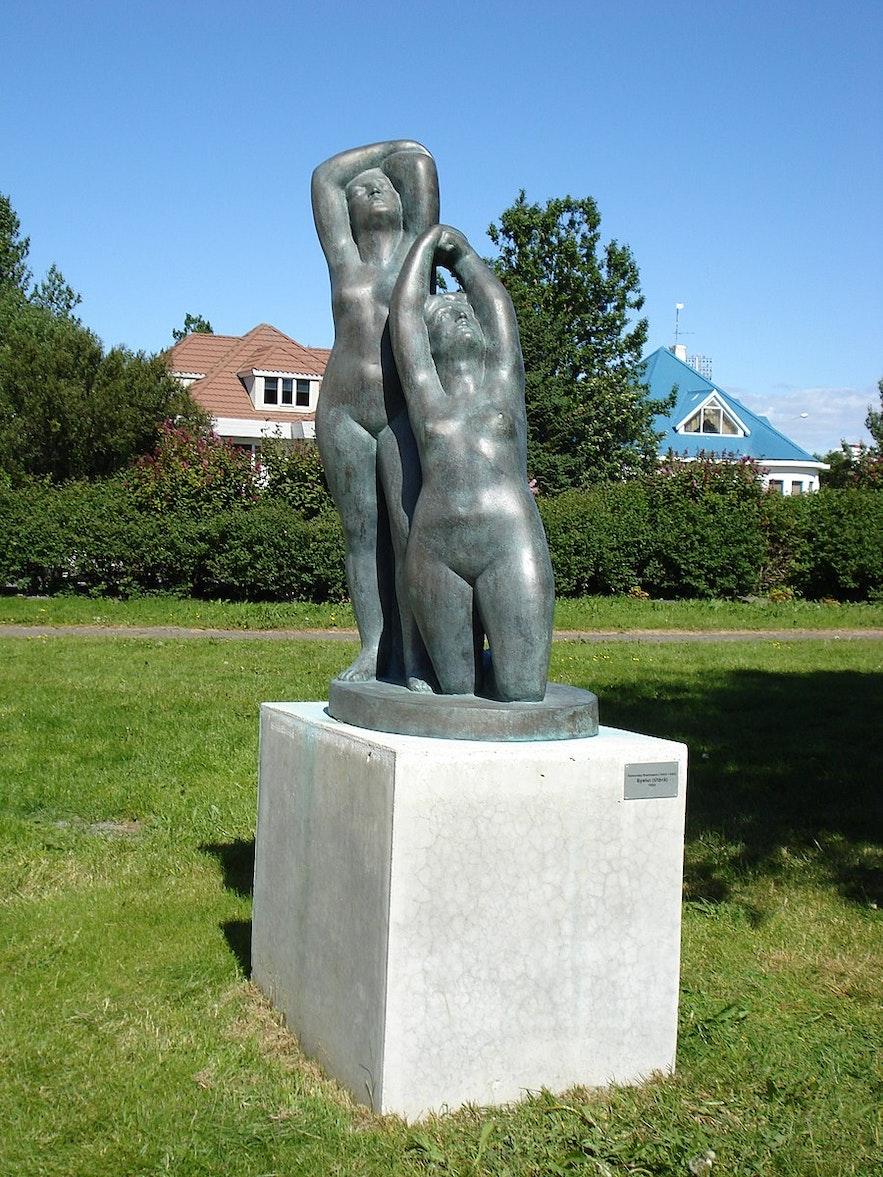Asmunder Sveinsson is a popular Icelandic artist.
