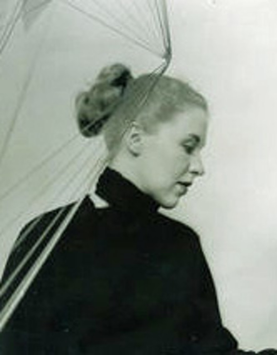 Gerður Helgadóttir was a great Icelandic sculptor.