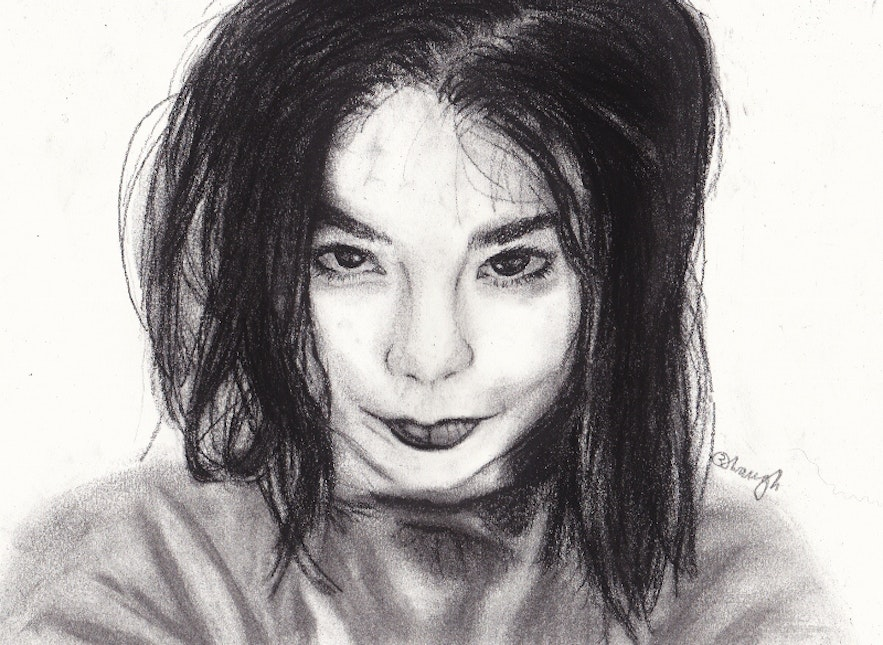 Bjork is Iceland's most famous artist.