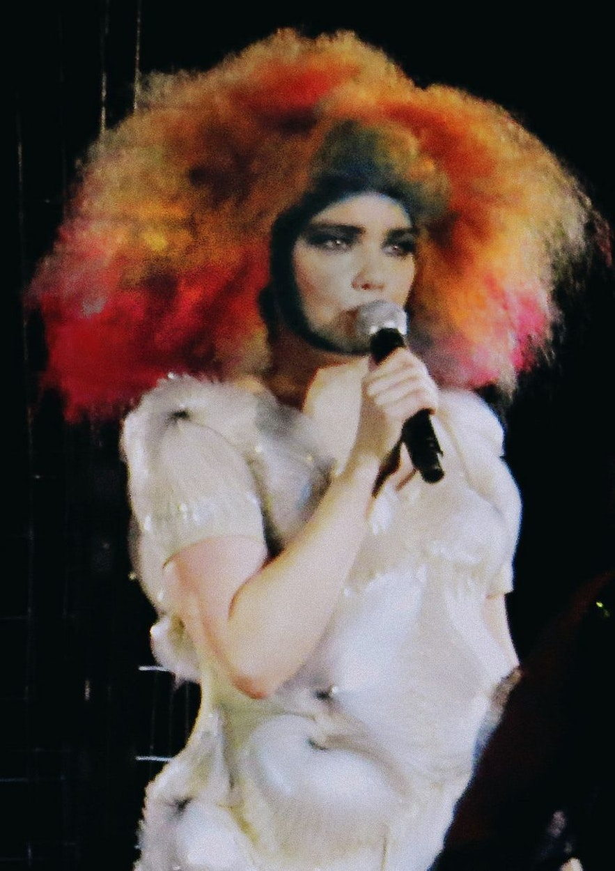 Bjork is a popular performer and has been for decades.