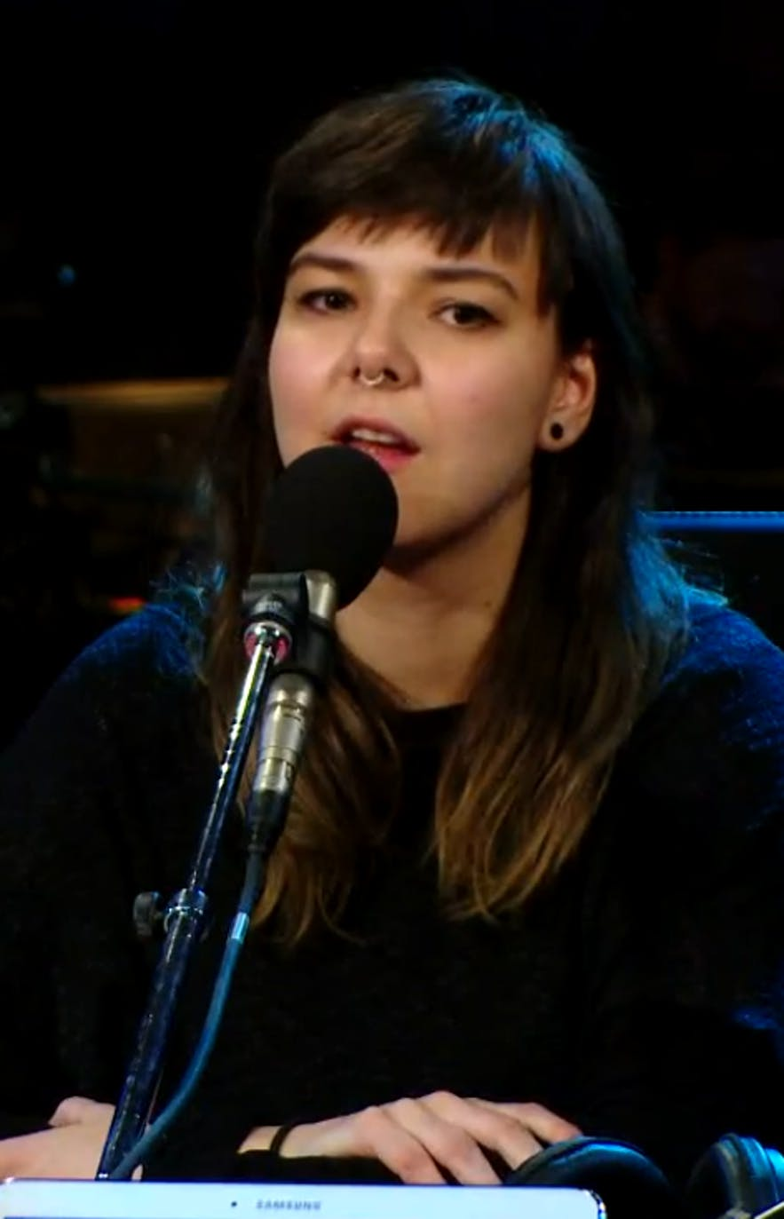 Nanna is the lead singer of Of Monsters and Men.