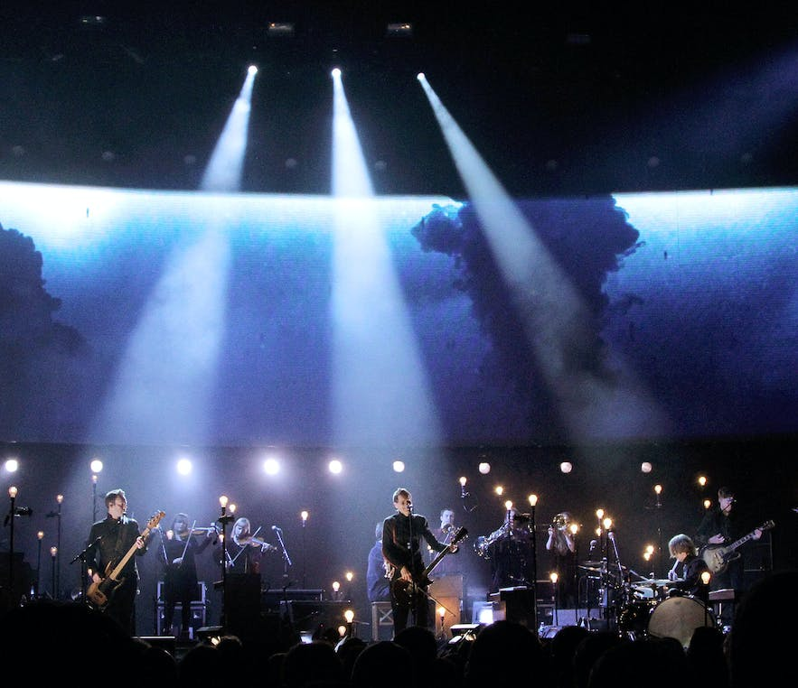 Sigur Ros is a great Icelandic band.