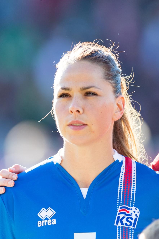 Sara Björk Gunnarsdóttir is a talented footballer.