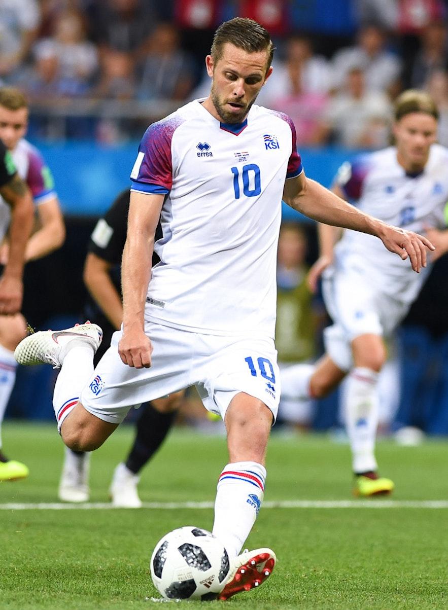 Gylfi is an internationally famous Icelandic footballer.