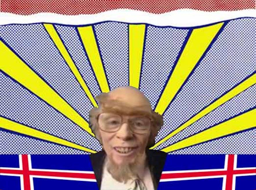 A character of the Icelandic comedian Þóhallur 'Laddi' Sigurðsson.