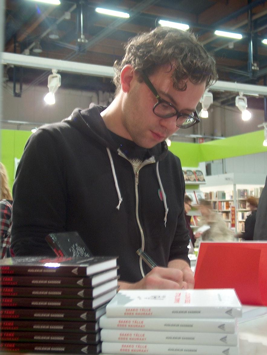 Hugleikur Dagsson is a popular cartoonist and comedy.