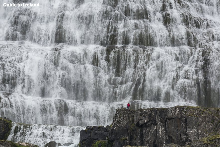 Dynjandi is one of Iceland's most iconic waterfalls.